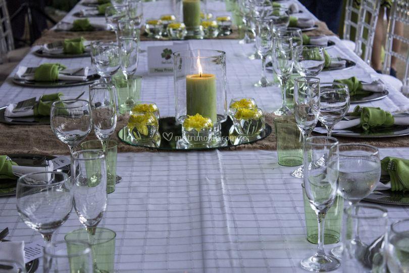 Matrimonio en verde. Ideal