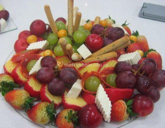 Pasabocas de frutas