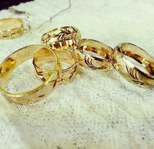 001c2f9ebd14 Argollas para matrimonio de Oro y Plata