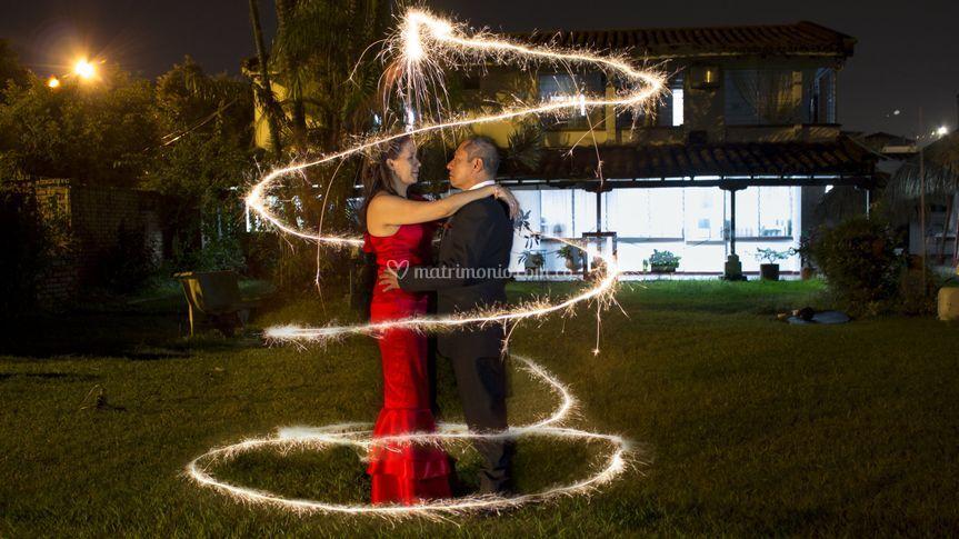 Claudia y Manuel