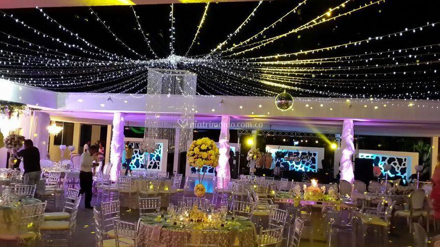 Decoración boda en Barranquilla