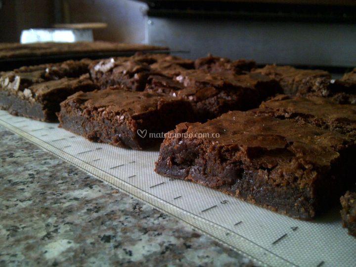Brownie de la casa