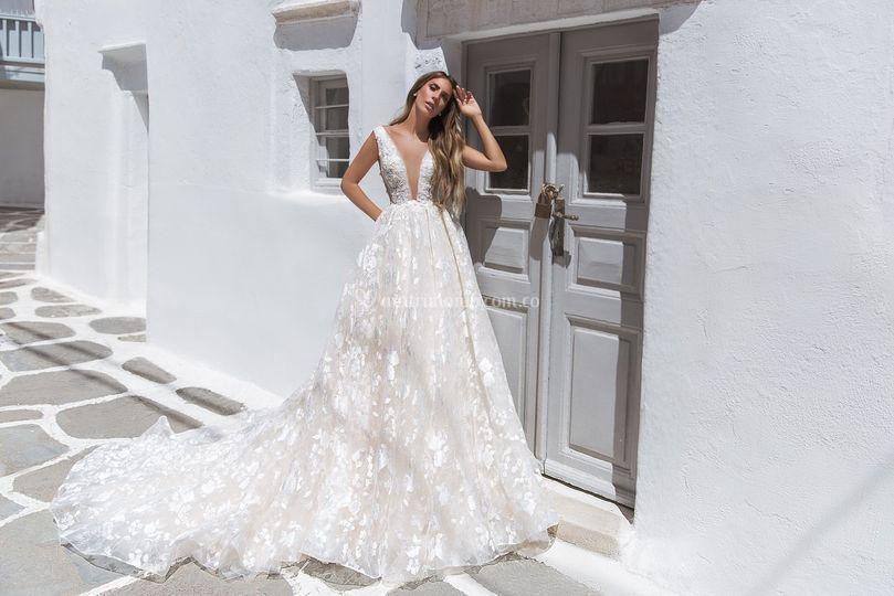 Vestido de novia Paris.