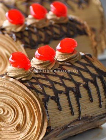 Rollos con chocolate