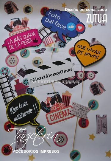 Letreros para fotografías