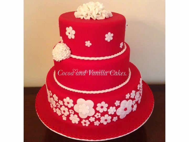 Spanish red cake