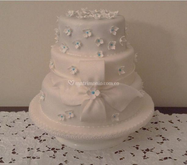 Cake de hortensias