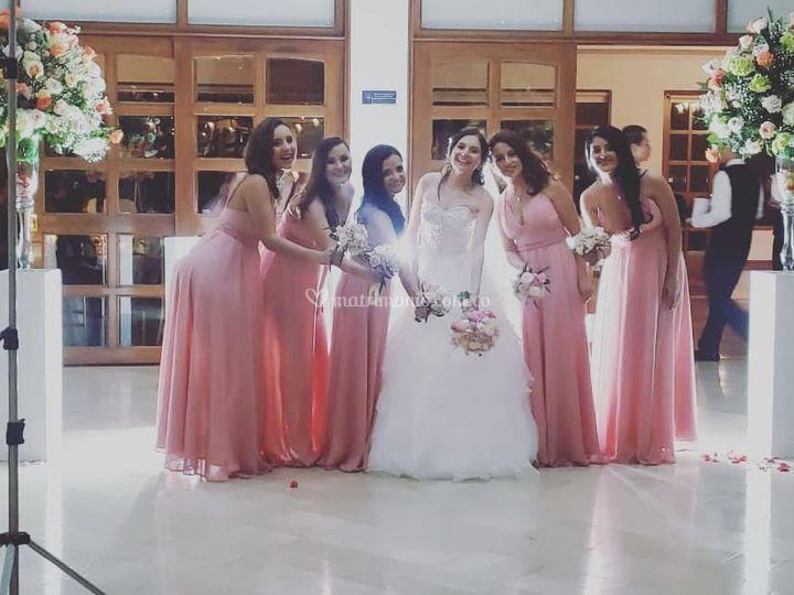 Vestidos novia y damas