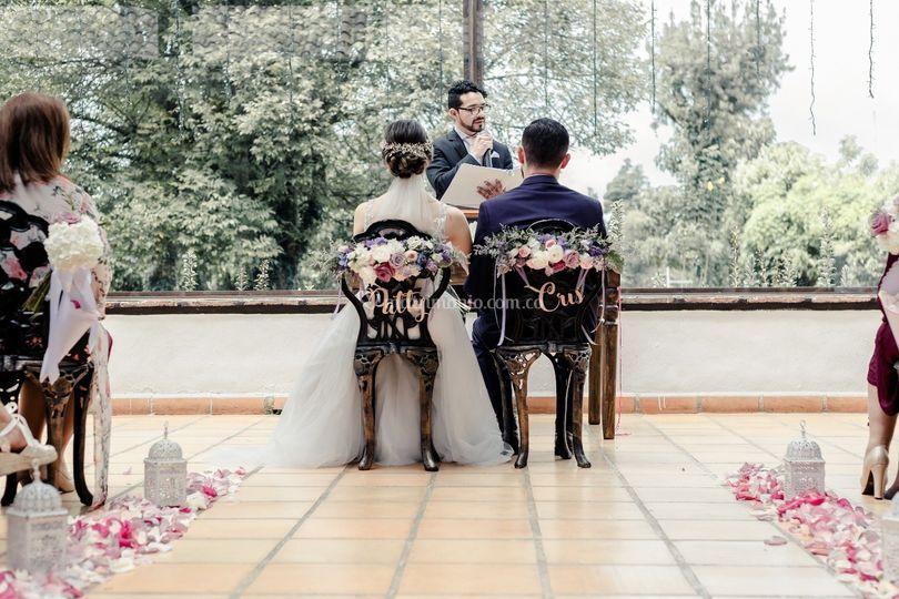 Oficiante de bodas. Lecturas