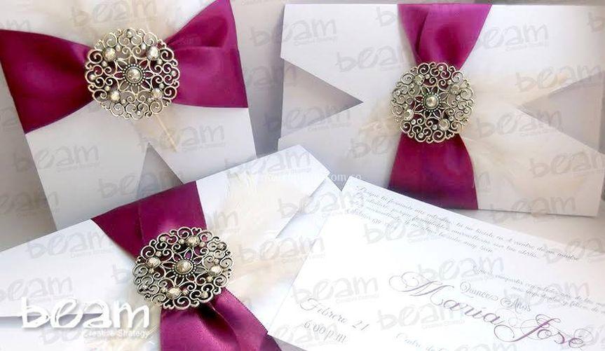 Diseño elegante de boda