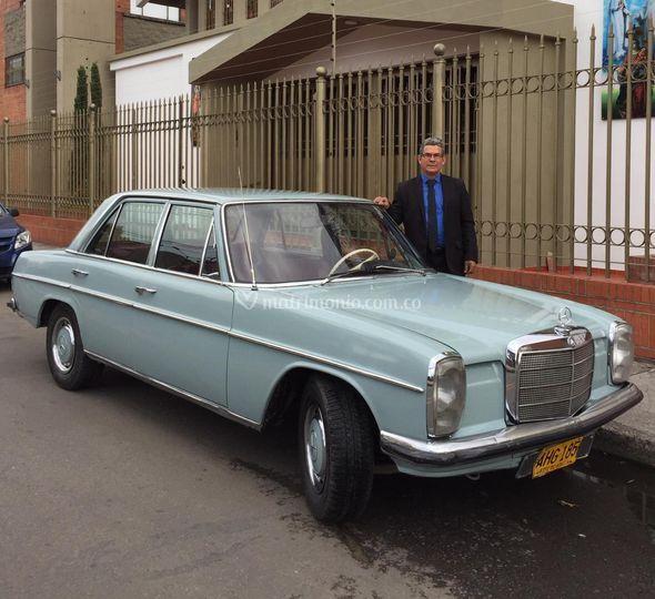 Mercedes benz 220 1971