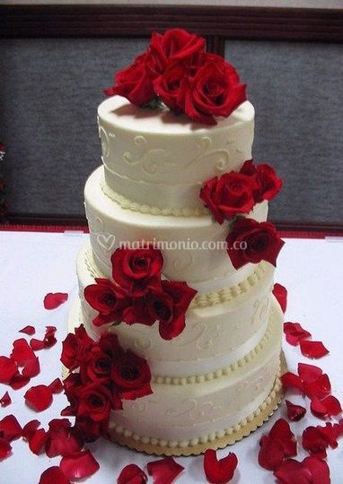 Pasteles para su boda
