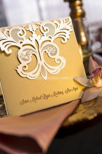 Invitación matrimonio- tapa
