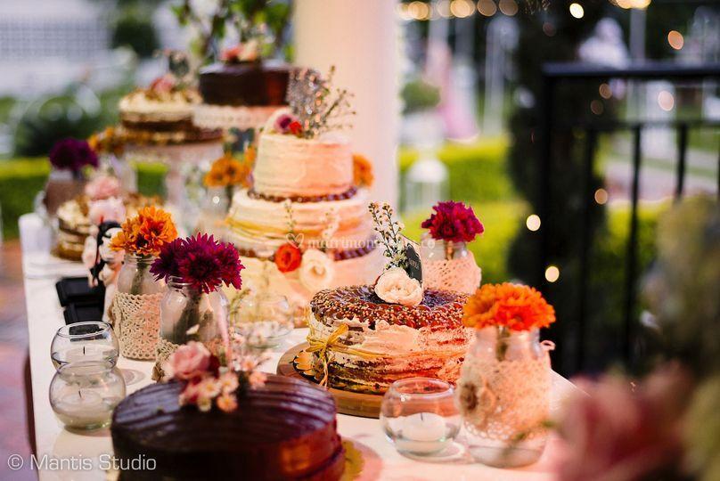 Bufet de tortas