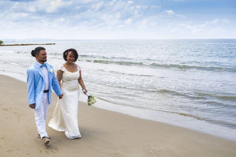 Matrimonio en la playa
