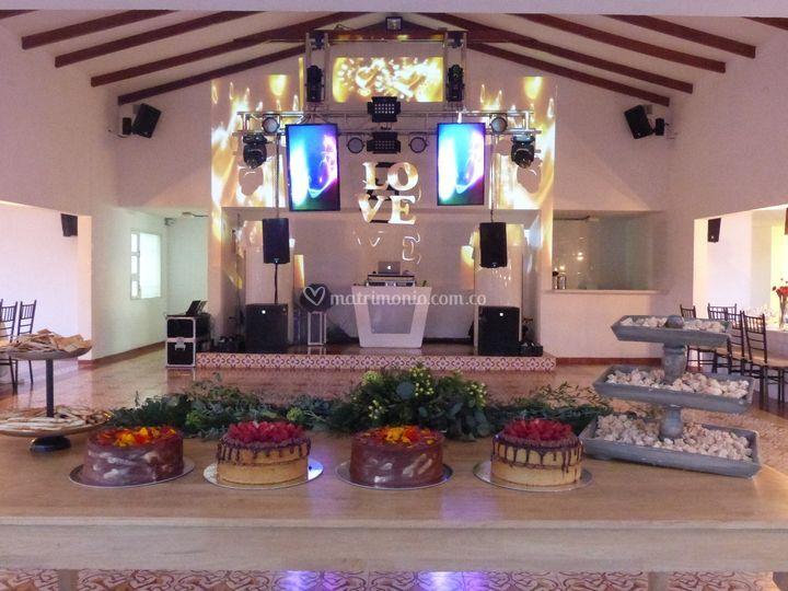 Centro de evento los magnolios