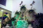 Fuente decorada de L�nea Dorada