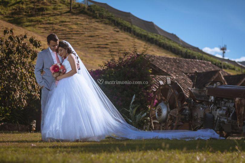 Diego y María