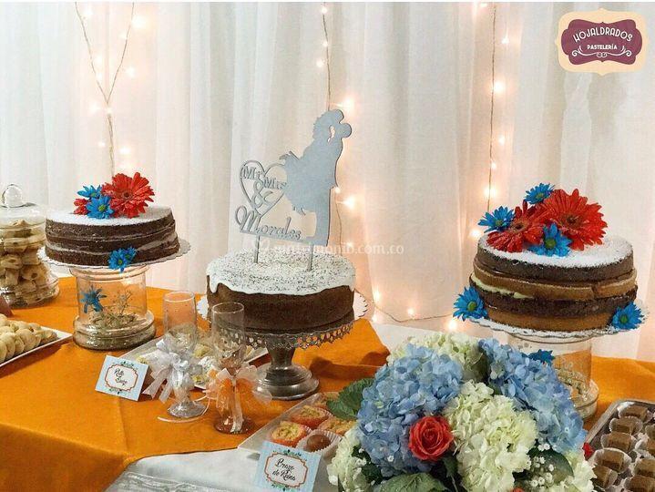 Festival de tortas hojaldrados