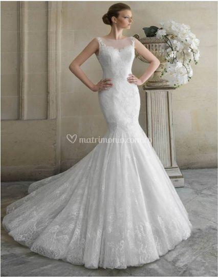 Vestidos de novia sirena