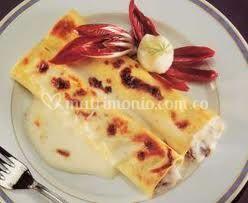 Cannelloni de tres quesos