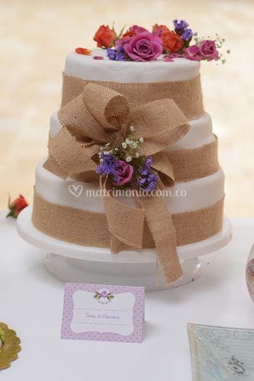 Torta boda rustica