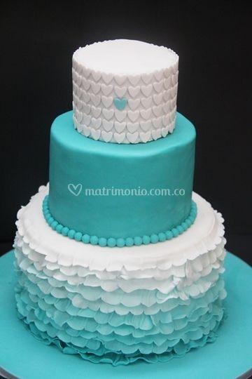 Torta Ruffles