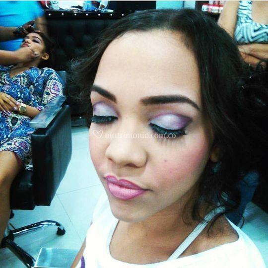 Maquillaje dama de honor