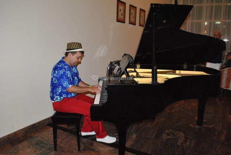 Piano bar.