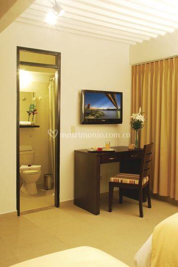 Interior de las habitaciones