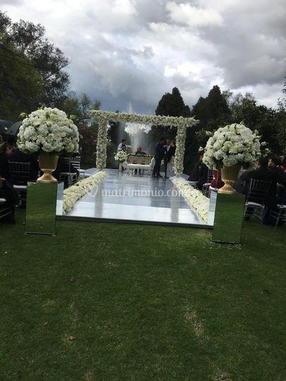 Maravillosa ceremonia