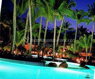 Playas y hoteles hermosos