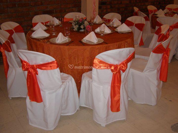 Matrimonio en naranja