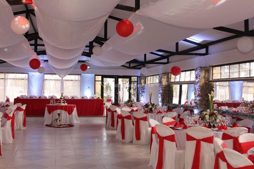 Salón rojo