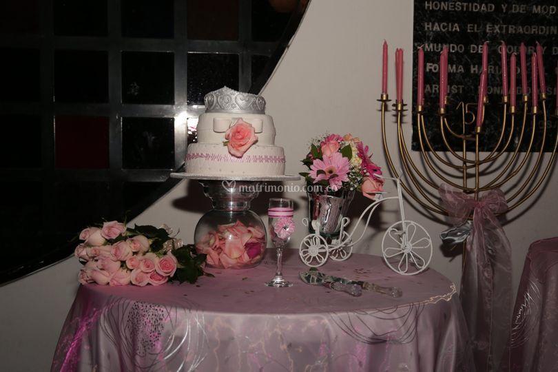 Mesa rosada