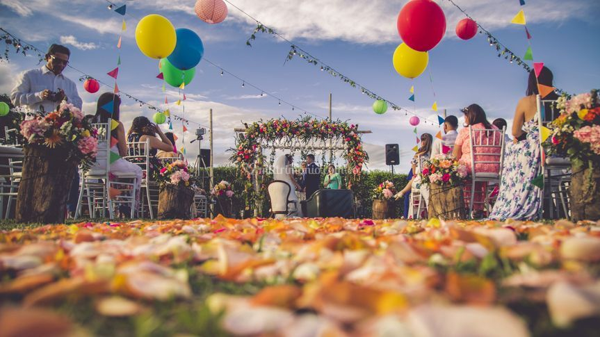 Ceremonia coloridas