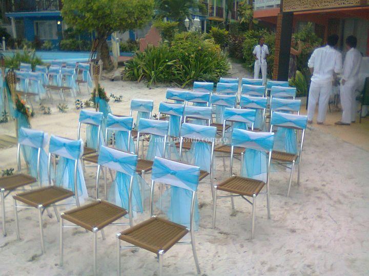 Decoración de sillas