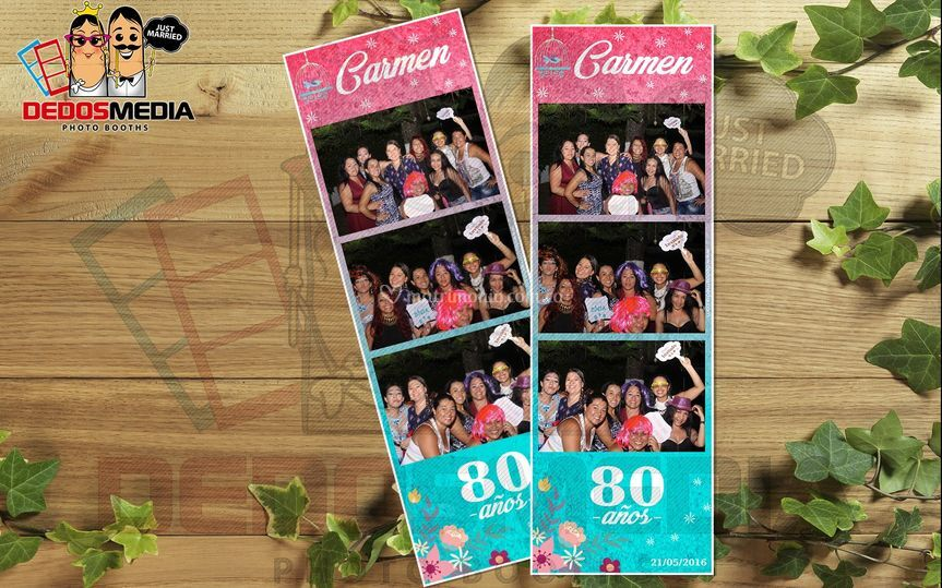 Carmen 80 años (Cumpleaños)