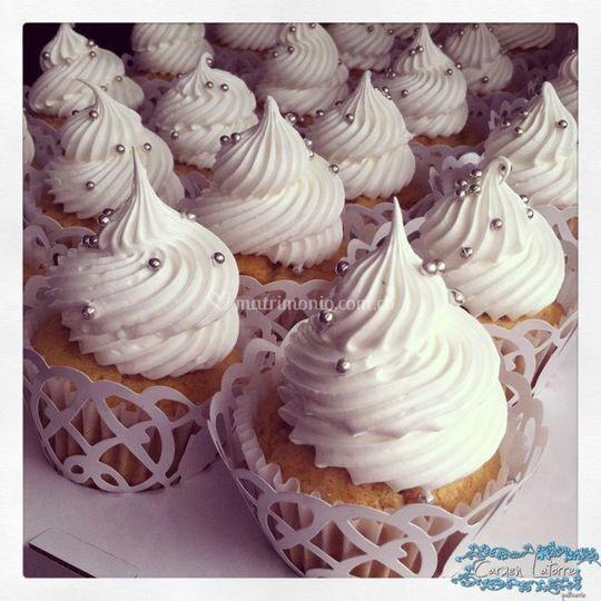 Cupcakes para matrimonio