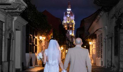 El matrimonio de Elizabeth y Juan