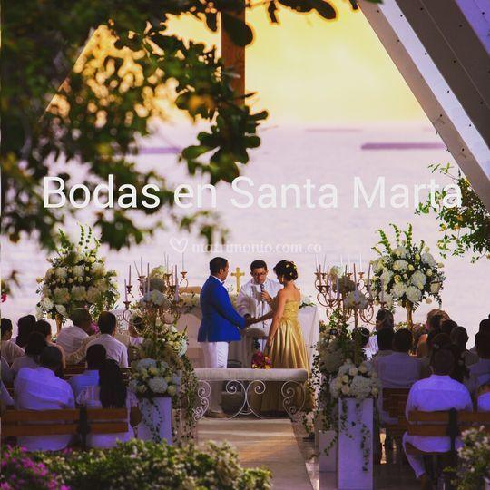 Matrimonio Simbolico En Santa Marta : Bodas en santa marta
