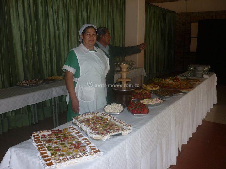 Amplios buffets