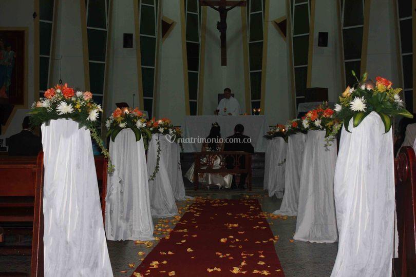 Decoración de parroquia