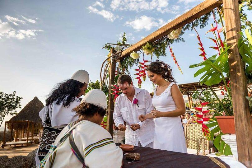 Matrimonio Simbólico Santa Marta : Tayrona trips