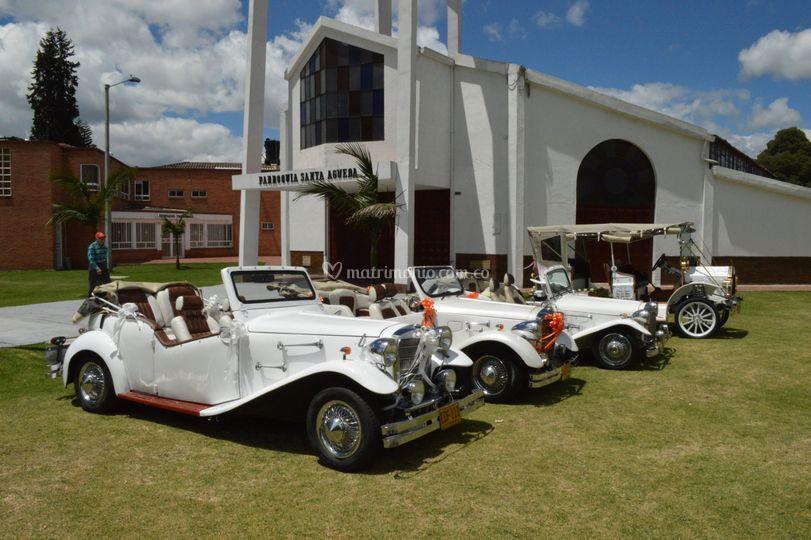 Alquiler de carros antiguos