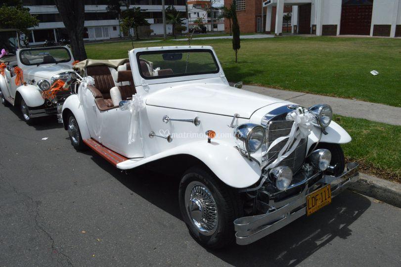 Alquiler de carros para bodas