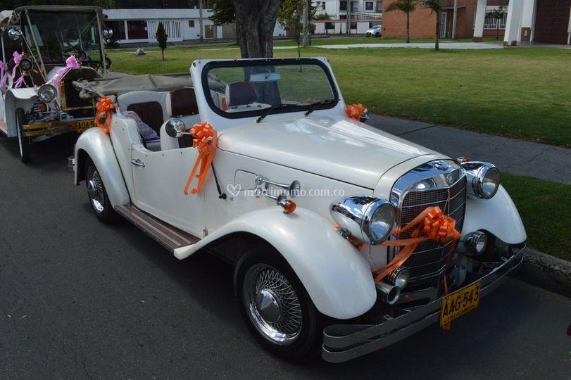 Carros para novias