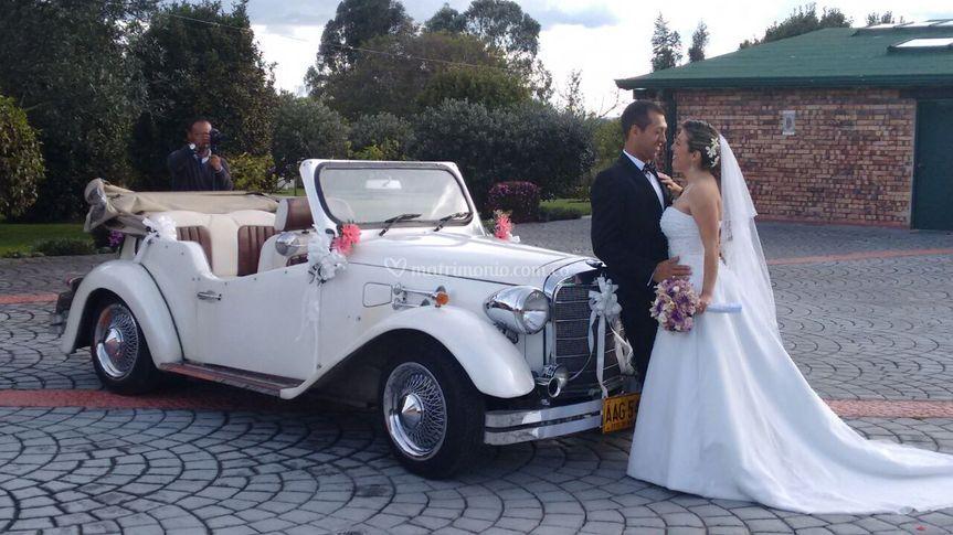 Alquiler de carros para novias