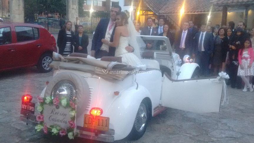 Carros para matrimonio
