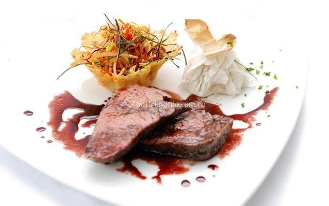 Carne con excelente presentación